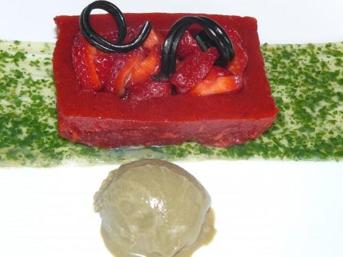fraise,anis,agar-agar,menthe,réglisse,glace