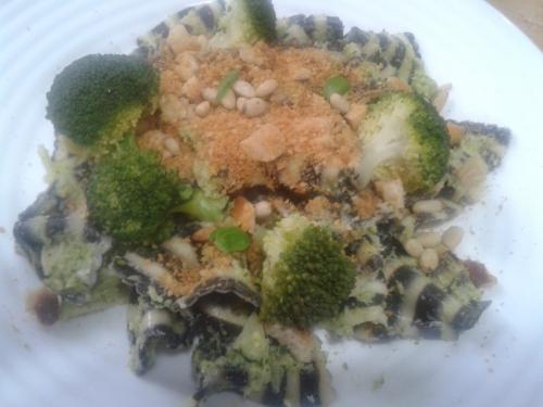brocoli, pâtes