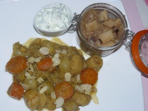 curry,panais,rutabaga,carotte,labné