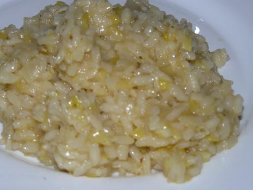 riz,poireau,citron