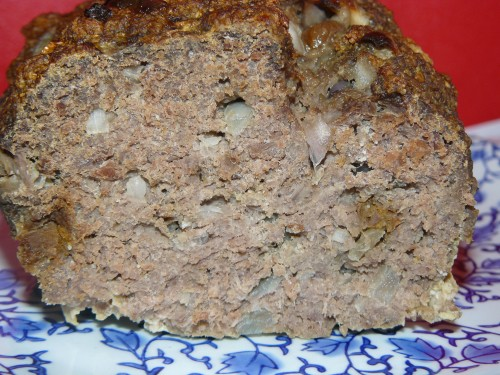 pain de viande,abricot sec